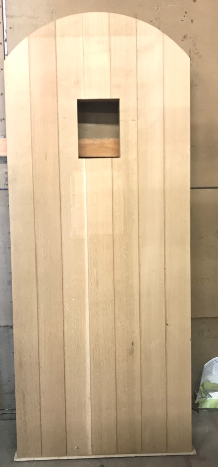 White Oak Custom Door